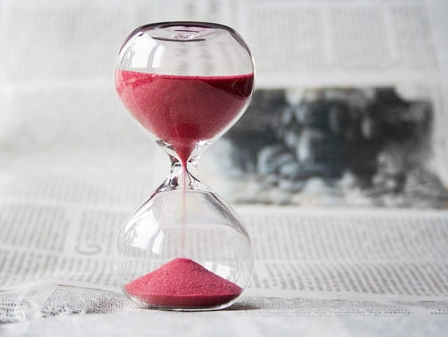 hour glass timing