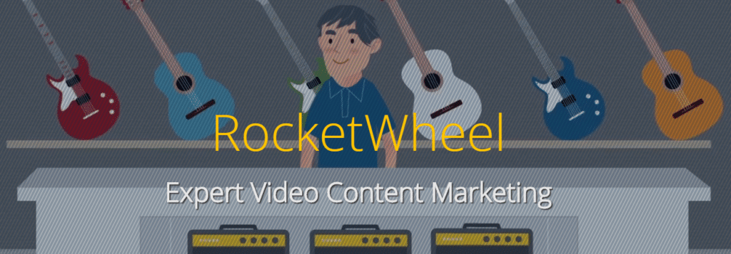 Rocket Wheel homepage