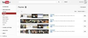 how to organize your youtube videos