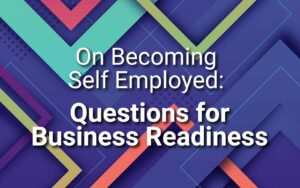 On Becoming Self Employed